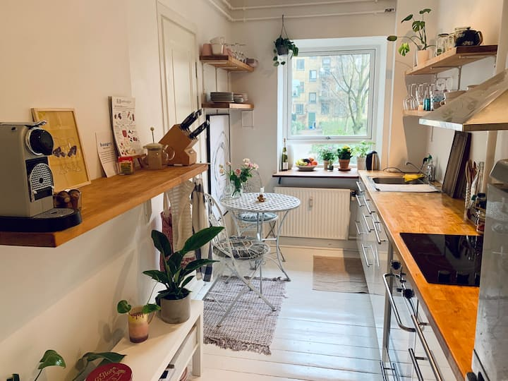 2 bedroom in lovely Nørrebro
