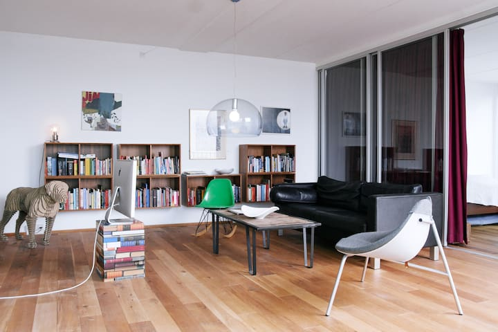 Room in designer apartment - Copenhagen - Flat