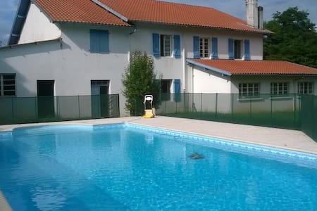 Maison familiale  facile à vivre, 15 pers, Landes - Labatut
