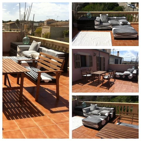 2 Bedrooms flat with huge terrace - Vilafranca de Bonany - Apartment