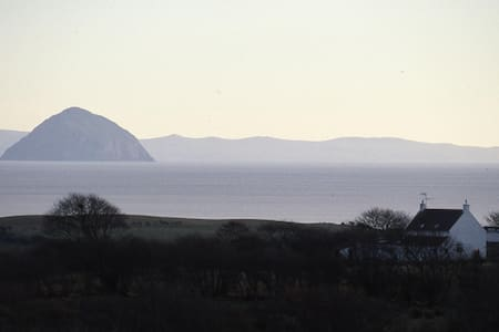 Arran, cosy island retreat in Scotland.