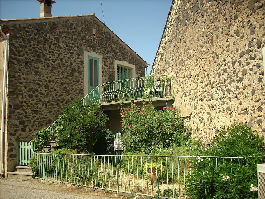 Maison, jardin, terrasse