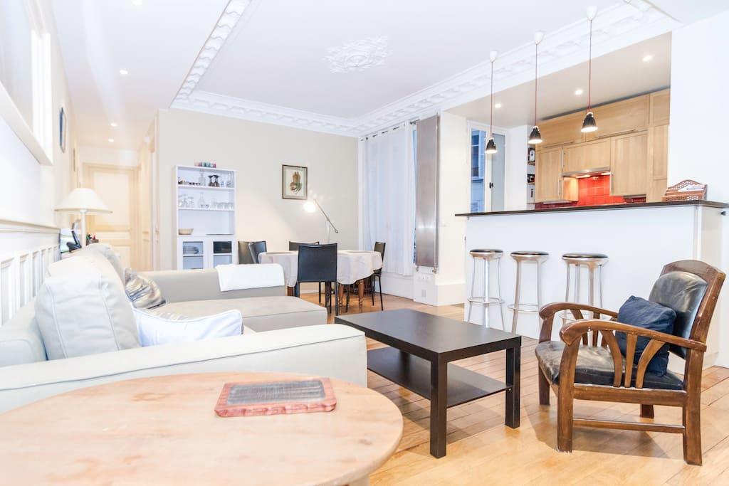 3 4 pieces montparnasse alesia appartements louer paris le de france france. Black Bedroom Furniture Sets. Home Design Ideas