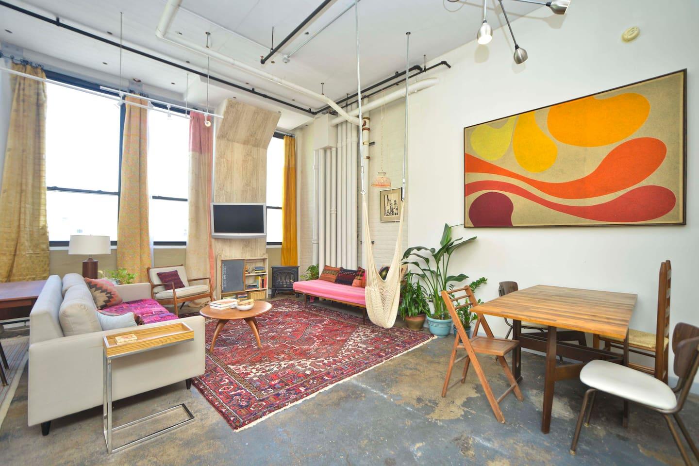 Huge factory loft, prime location - Lofts zur Miete in Brooklyn, New ...