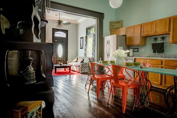 Eclectic Tremé Shotgun House