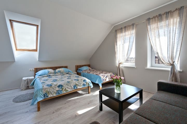 Room 2 Karkles Villa - Karklė - Casa