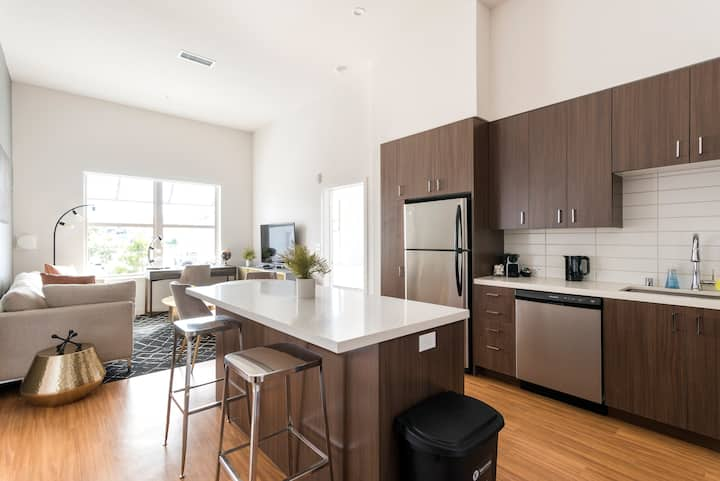 TRIBE ❤️ All New 2BR @ SFO in Downtown San Bruno