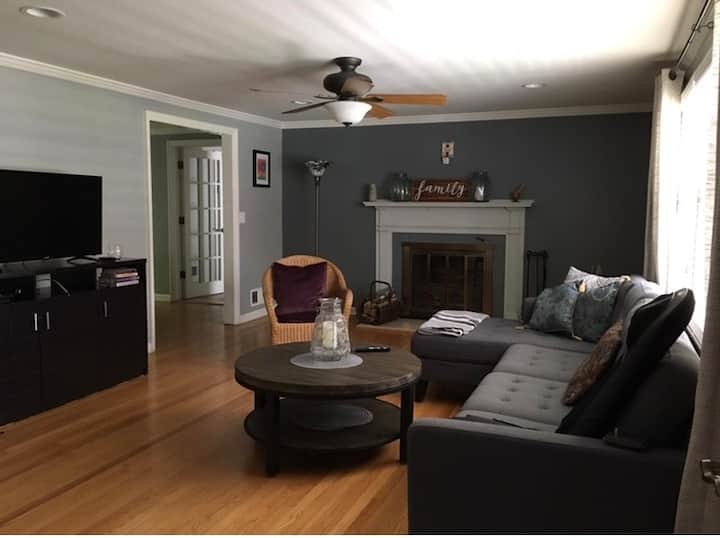 Serene, cozy home