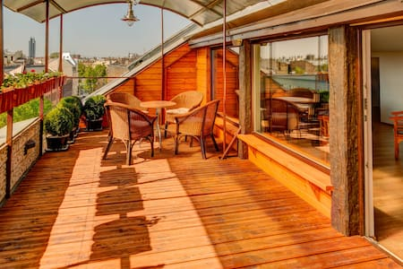 Roof Garden Terrace - Riga - Appartement