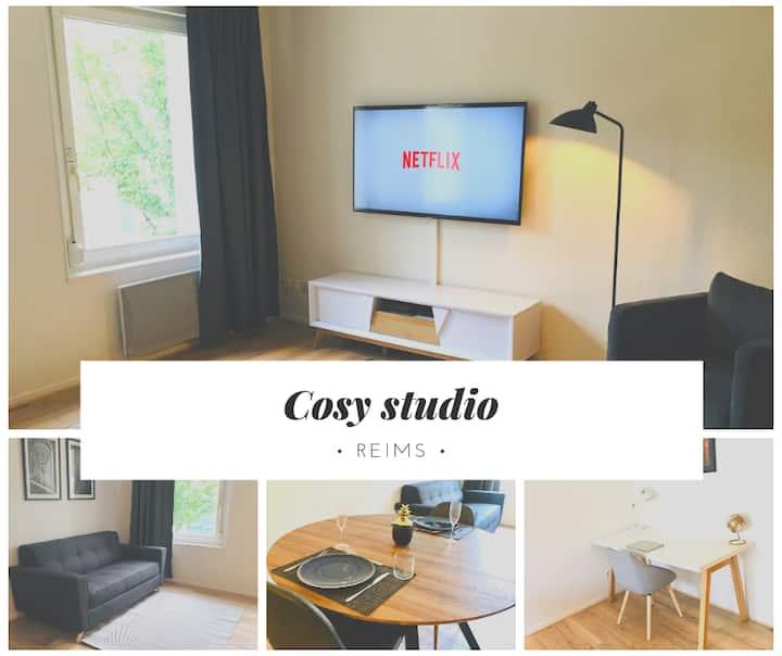 Grand Studio à 5min du centre - Suite Laon