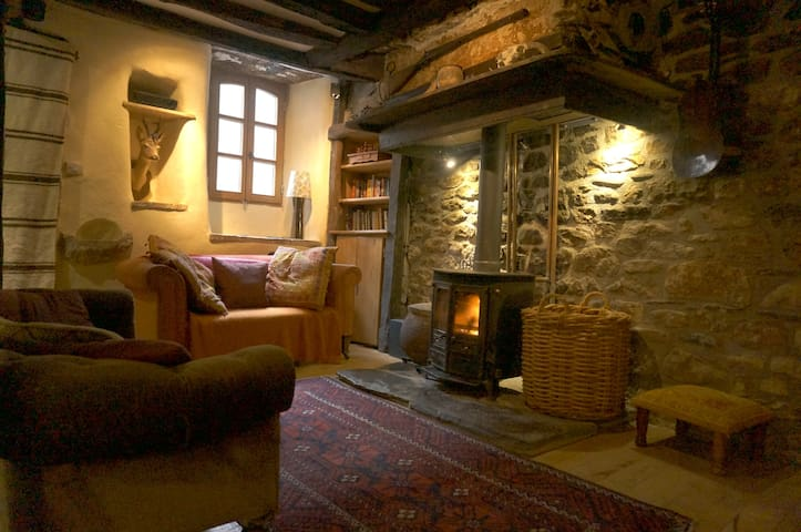 Ancient 4 bed 4 level house in Florac,  Cevennes - Florac - Hus