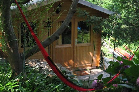 Cottage LUPO 2 mare/Climbers/Bike/Animals - Calice Ligure - Cabane