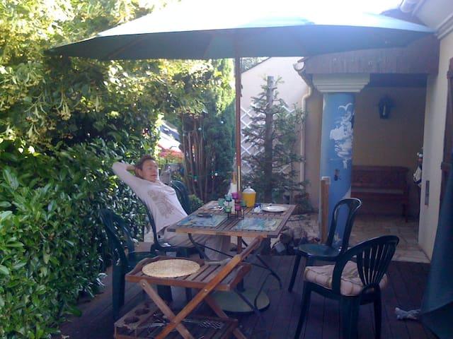 Green stay for Paris discorery - Marolles-en-Brie - House