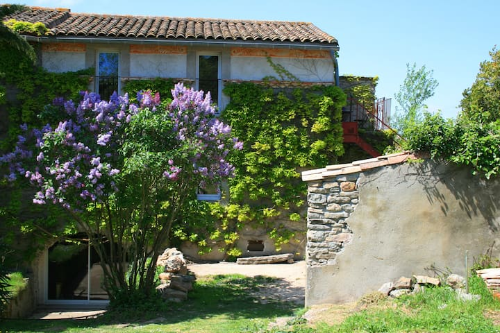 Gite with garden in an idyllic setting - Fajac-en-Val - Talo