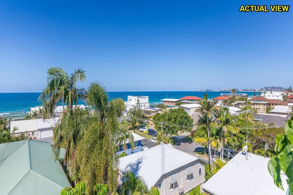 Actual View - 120 metres from the beach