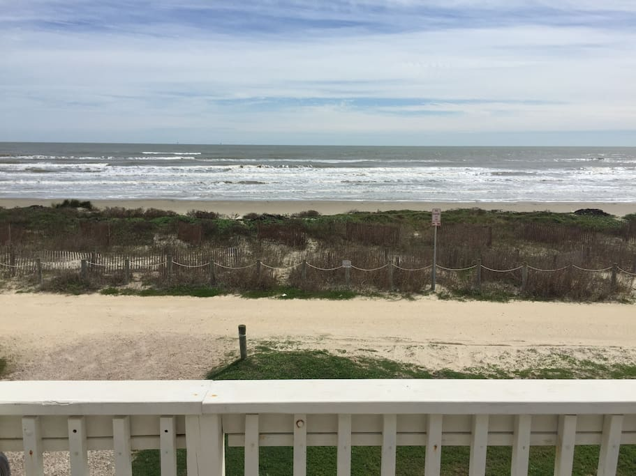 Right on the beach...unobstructed view and access