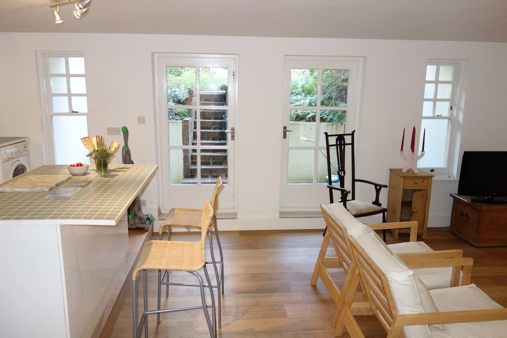 Lovely open plan kitchen/lounge
