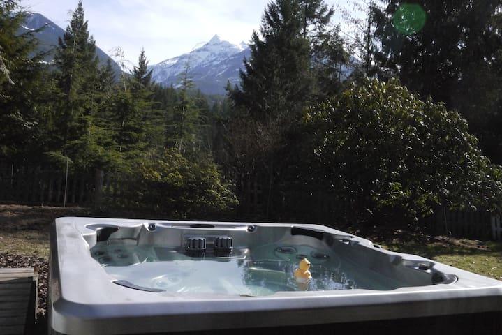 Cozy Mountain Retreat  - 1 Bedroom Suite & HOT TUB