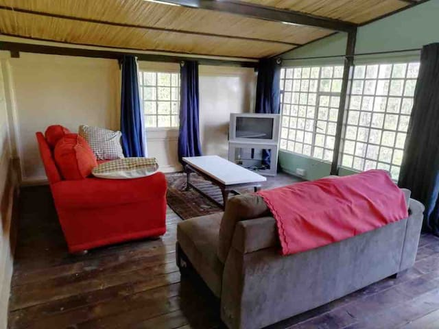 Spacious Garden Cottage with views of Mt. Kenya