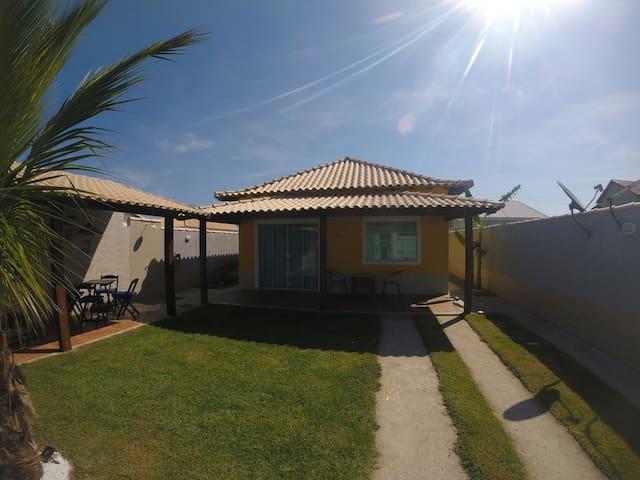 Casa em condomínio, ar cond, Wi-fi, lagoa/piscina