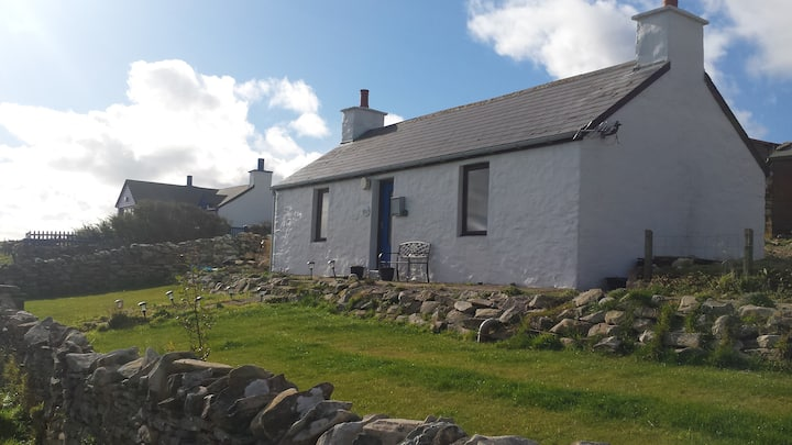 Whimbrels - a traditional  Shetland Cottage
