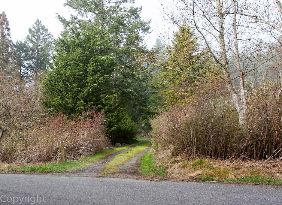 The driveway marker