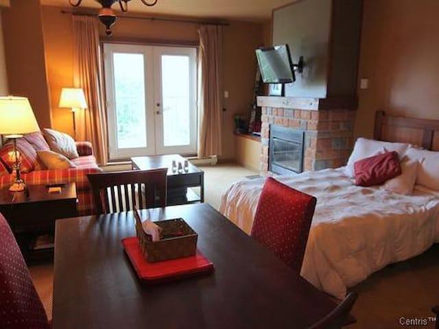 TREMBLANT STUDIO, KITCHEN,SPA,SAUNA