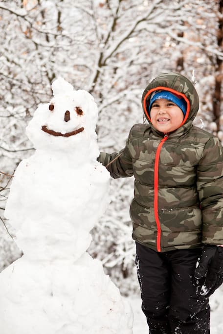 What will your snowman look like?