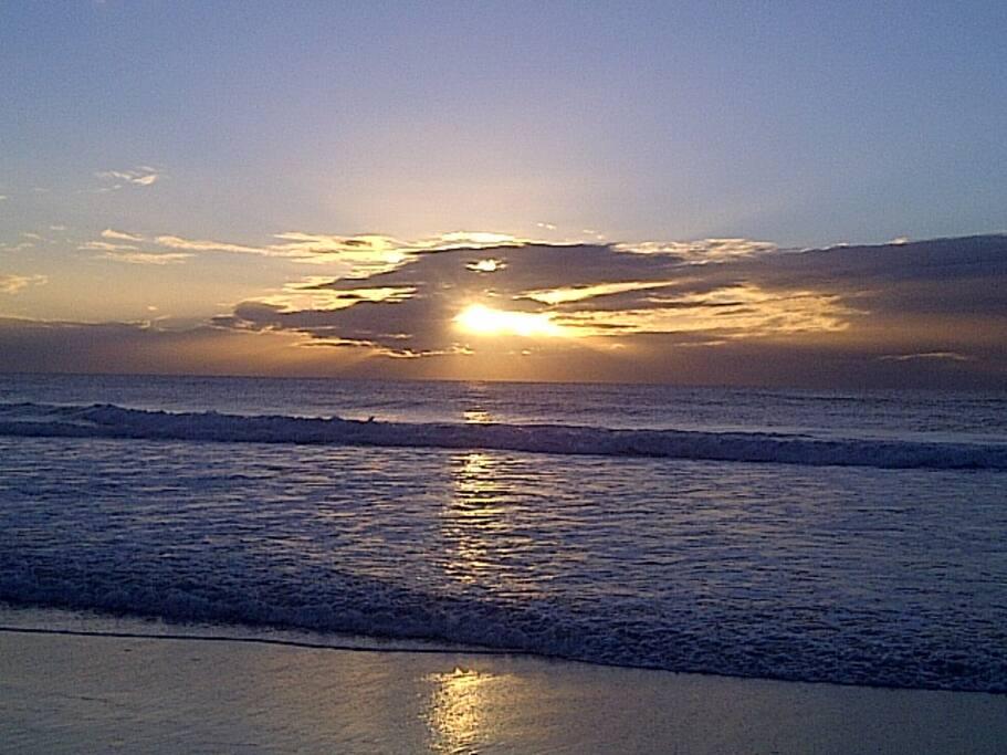 Sunrise on Marcoola Beach