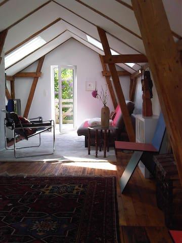 Kieler Förde-neu renovierer Stall - Heikendorf - บ้าน