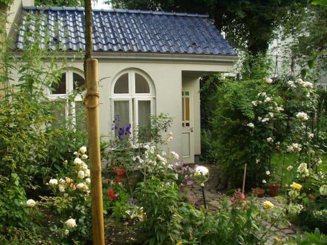 Gartenhäuschen im Schanzenviertel