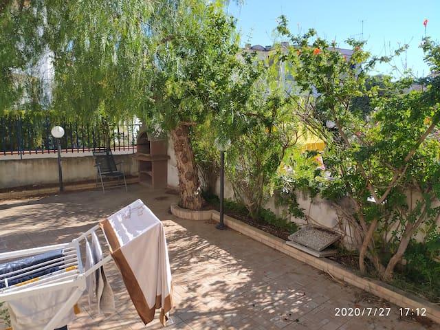 Lido del Sole, large apartment with veranda