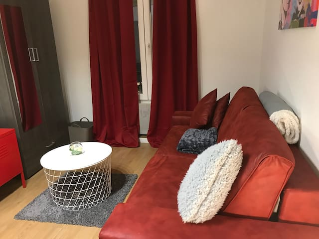 Séjour, armoire , télé