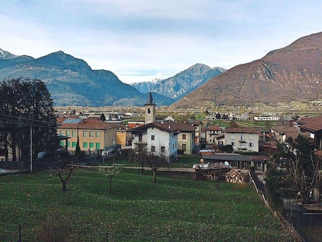 La casa in Valtellina - Piantedo - Leilighet