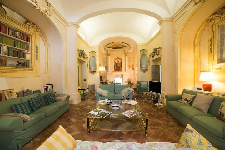 "camera ""verde"" matrimoniale in villa - Siena - Bed & Breakfast"