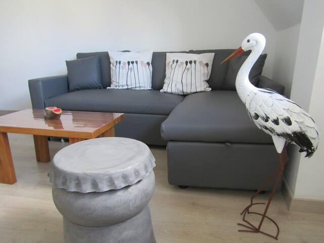 Appartement Le nid de cigogne 1 à 6 personnes