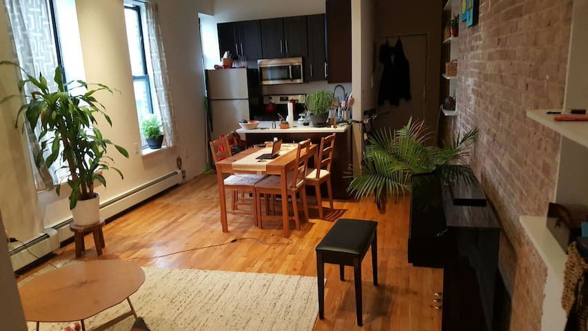 Nice spacious room in Harlem - New York - Appartement