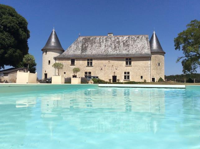 Gite de charme Chateaux Le bois du Chillou - Marçay - วิลล่า