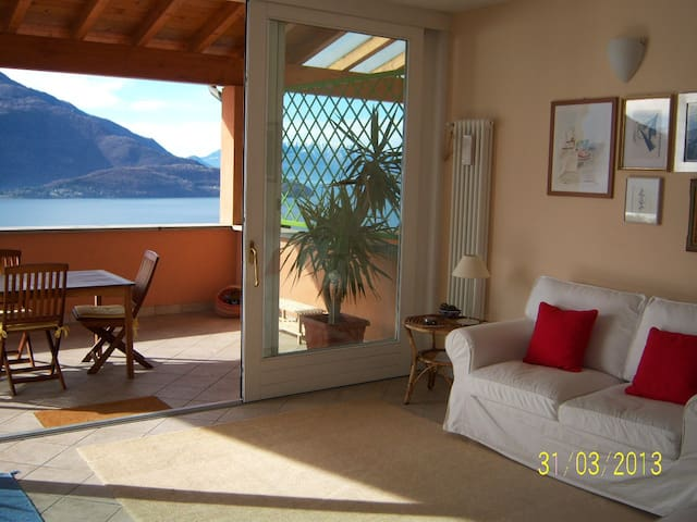 Stunning Lake Como view  - Vercana - Apartmen