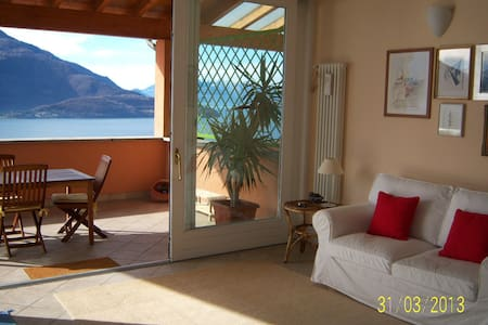 Stunning Lake Como view  - Vercana - Apartment