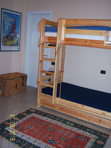 Double bedroom with dressing room