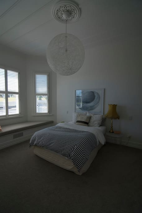 Master bedroom with ensuite and walk in wardrobe