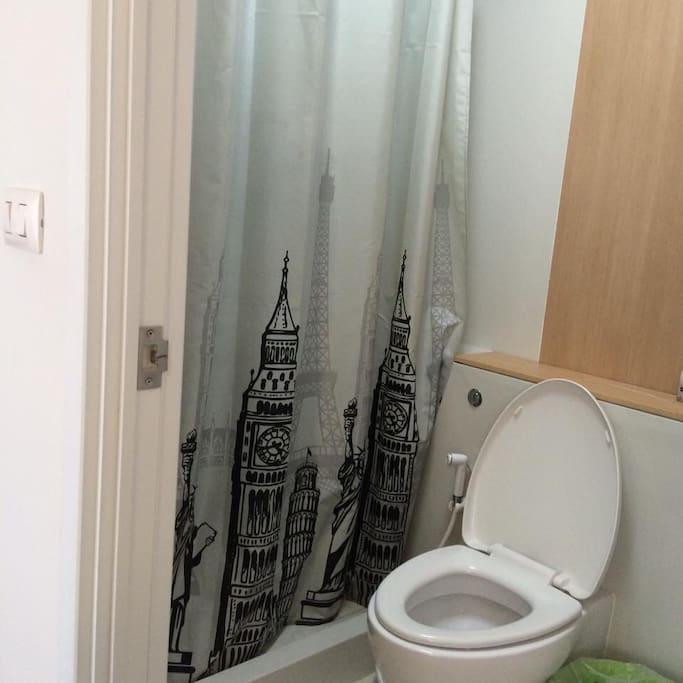 ห้องน้ำเป็นสัดส่วน