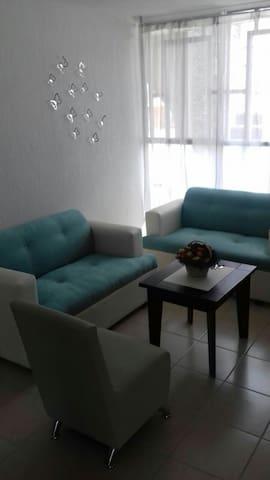Bonito y confortable departamento - San Miguel de Allende, Guanajuato, MX - Flat