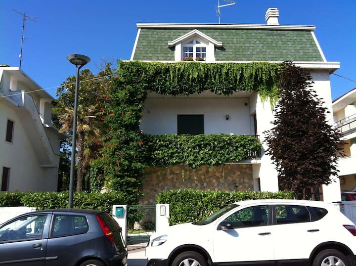 Garden house with terrace