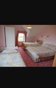 A beautiful family room sleeps 4