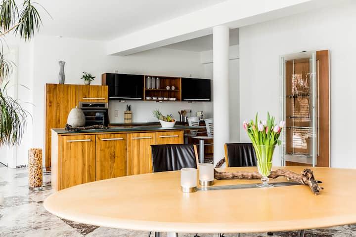 La Vigna - Suite - mit eigenem Pool und Sauna