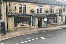 The Bakewell Pudding shop is a must visit
