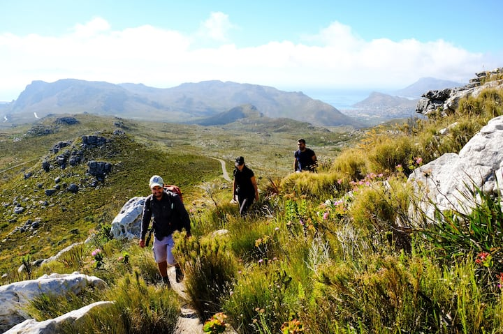 Wonderful mountain trails at Silvermine