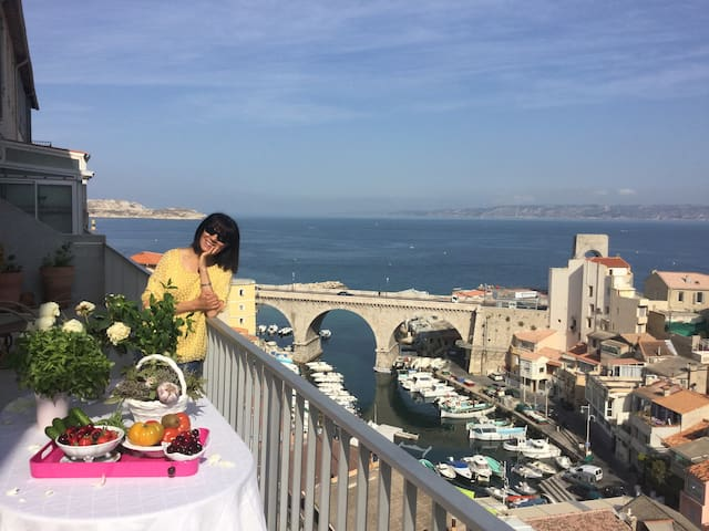 Marseille: Magnifiaient sea view